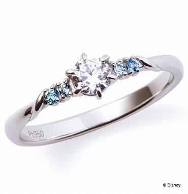 ディズニープリンセスの婚約指輪シンデレラ