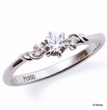 ディズニープリンセスの婚約指輪アリエル