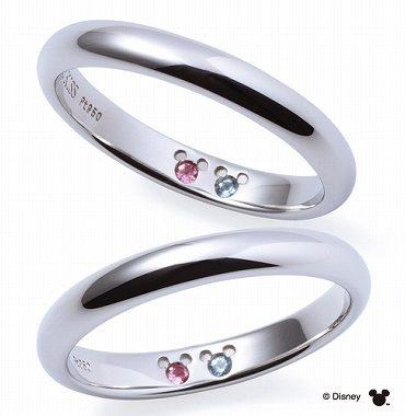 ディズニーコレクションの結婚指輪