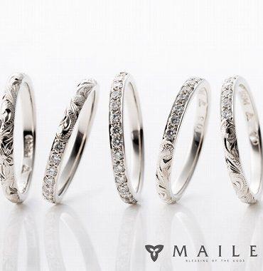 ハワイアンジュエリーの結婚指輪