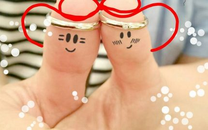 結婚指輪ご成約のお客様 静岡県磐田市のクロちゃん様ご夫妻
