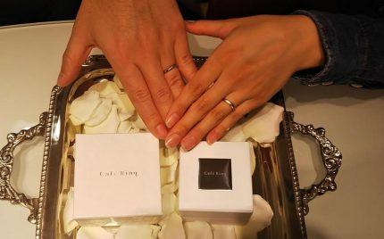 結婚指輪ご成約のお客様 松浦様ご夫妻