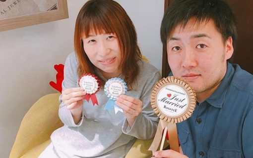 結婚指輪ご成約のお客様 くる様ご夫妻 静岡県