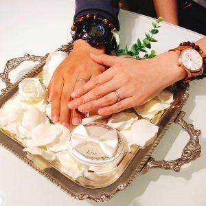 結婚指輪ご成約のお客様 N様ご夫妻 静岡県静岡市