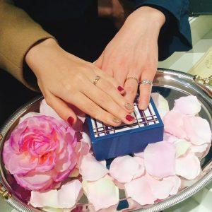 結婚指輪ご成約のお客様 おしゃべりぱんだ様ご夫妻 静岡県静岡市