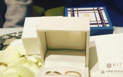結婚指輪ご成約のお客様 袋井市のM様ご夫妻